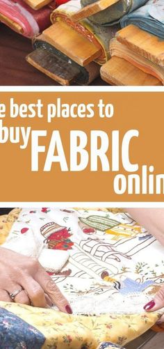 The ultimate list of the best place to buy fabrics online for every need  #crafts #diys #patterns #hacks Macrame Projects, Diy Sewing Projects, Diy Wood Projects, Sewing Diy, Rustic Farmhouse Furniture, Glue Crafts, Diy Crafts, Wooden Crafts, Diy Step By Step