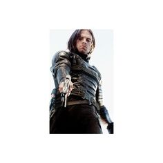 Winter Soldier, Soldiers ❤ liked on Polyvore featuring avengers, bucky barnes and sebastian stan