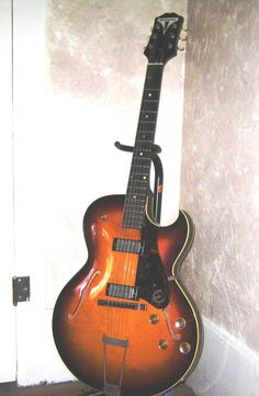 This was my 1959 Epiphone Sorrento. Kalamazoo made by Gibson. I loved it but the economy did not.  Wonderful guitar