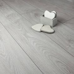 Our new home Oak Light Grey Laminate Flooring