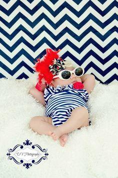 SO cute! Since we're having a July baby. Love it!