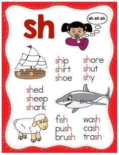 The Make, Take & Teach common consonant digraph posters are ideal for use within your classroom when teaching this phonics concept. Phonics Reading, Teaching Phonics, Phonics Activities, Kindergarten Literacy, Teaching Reading, Learning Activities, Kids Learning, Activities For Kids, Literacy Centers