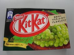 Okay, so Kitkat is not Japanese. However, Kitkat is consistently one of the top selling chocolate bars in Japan. Kitkat in Japan has many varieties not available in other countries such as cherry blossom flavor