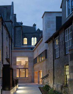 Taylor Library : Corpus Christi College, Cambridge UK | Wright & Wright Architects