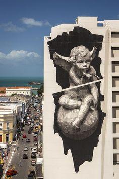 A Jurubeba Cultural:  ● A Arte ...e a rua.  (por iNO. Fortaleza, Ceará. Brasil).