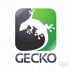 Exclusive Customizable Logo For Sale: Gecko
