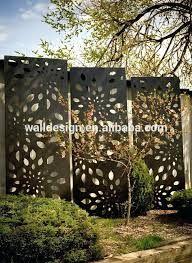 Afbeeldingsresultaat voor laser cut steel garden screens