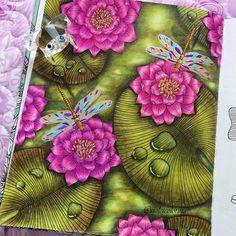 dagdrömmar, daydreams, hanna karlzon, prismacolor, coloring book