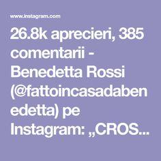"""26.8k aprecieri, 385 comentarii - Benedetta Rossi (@fattoincasadabenedetta) pe Instagram: """"CROSTATA RICOTTA E MARMELLATA INGREDIENTI PER LA PASTA FROLLA: 2 uova 100 grammi zucchero 80…"""" Ricotta, Pasta, Instagram, Noodles, Pasta Dishes"""