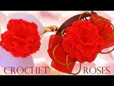 Haz crea y diseña tus accesorios con rosas -Make your accessories creates designs with roses - YouTube