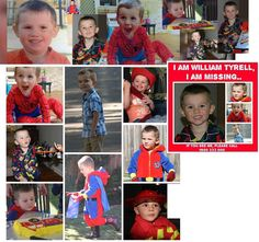 3 year old Little William has been missing since 12th September 2014, last seen Kendall, New South Wales, Australia Please share and keep ears and eyes open.