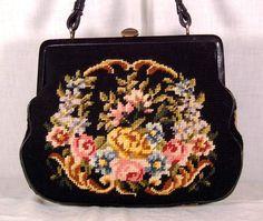 berlin work tapestry handbag
