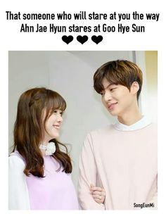 Goo Hye Sun and Ahn Jae Hyun