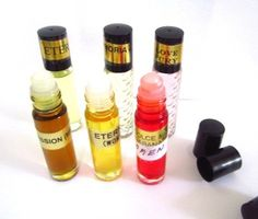 Women Perfume Oils, Classic Seris I: Chanel No.5 Type, Coco Mademoiselle Type, White Diamonds Type, Opium Type, Nina Ricci L'air Du Temps Type, Sharlimar Type, Body Oils 1/3 Oz Roll on Bottle: These versions are NOT to be confused with the originals and we has no affiliation with the manufacturers/designers. Our interpretation of this fragrances was created through chemical analysis and reproduction and this description is to give the customer an idea of scent character, not to mislead…