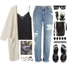 """Bye Highschool!"" by tania-maria on Polyvore"