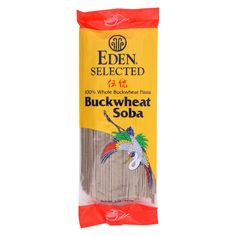 Eden Foods Pasta - Buckwheat Soba - Case Of 12 - 8 Oz.  #organic #sunplum #love