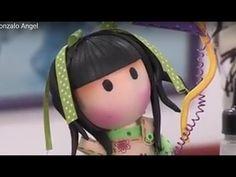Como hacer una Muñeca sin Rostro - Gorjuss- Hogar Tv por Juan Gonzalo Angel - YouTube Lalaloopsy, Fondant Tutorial, Bindi, Pasta Flexible, Art Dolls, Lunch Box, Embroidery, Disney Princess, Disney Characters