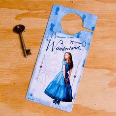 Alice in Wonderland Door Hanger
