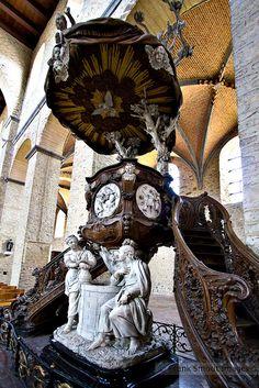 Collégiale Sainte-Gertrude - XI & XII°S. - Nivelles - Belgium