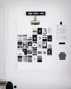 Diy Home : Illustration Description Lovely calendar -Read More – - Design Poster, Graphic Design, Design Design, Diy Calendario, Calendrier Diy, Kalender Design, Creative Calendar, Calendar Ideas, Advent Calendar