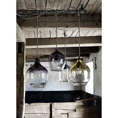 Nordal Bubble Hanglamp Blauw - 26 cm