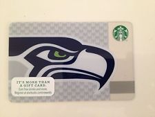 2017 Seahawks Starbucks gift card | Starbucks Cards | Pinterest ...