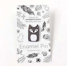 Wolf Pin - Hard Enamel Pins - Woodland Animal Lapel Pin - Wolf Jewelry - Wolves by FluffedAnimals on Etsy https://www.etsy.com/listing/491285919/wolf-pin-hard-enamel-pins-woodland