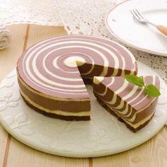 「ティラミス風しましまケーキ」のレシピ動画