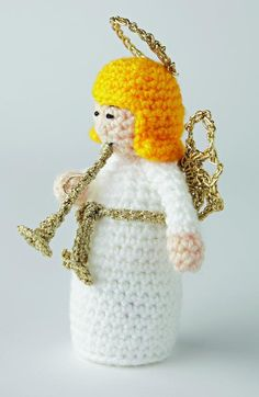 Crochet a Christmas angel | The Making Spot blog