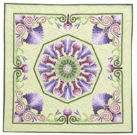 Our current issue's Photo Finish features Mini Magic by Mariya Waters, Quilters Newsletter June/July 2012