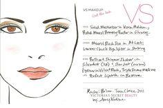 victorias secret makeup tutorial
