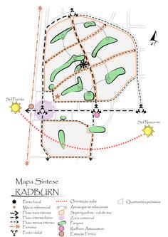 Henry wright and clarence stein radburn nj garden city for Schematic design interior layout vignette