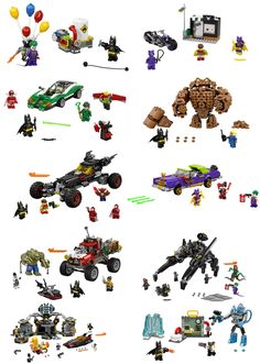 https://flic.kr/p/PddqM9 | batman all | Hello after the box what is inside the box please find a global view of all the lego batman movie set 70900 The Joker Balloon Escape (124 pièces - The Joker,Batman1) 70901 Mr. Freeze Ice Attack (1047 pièces - Batman2, Mr Feeze, Security Guard) See the video review by Just2good : www.youtube.com/watch?v=QGnFNVrLnNg 70902 Catwoman Catcycle Chase (139 pièces - Batgirl, Robin, Catwoman) 70903 The Riddler Riddle Racer (254 pièces - Batman3, The Riddler…