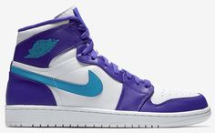 The Air Jordan 1 Delivered in Hornets Colors for China