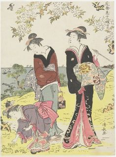 April  ARTIST:Kiyonaga Torii   Ichibe_ Izumiya  DATE:1783  The Minneapolis Institute of Arts