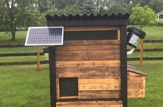 This solar-powered chicken coop automates time-consuming chicken-care chores. http://www.wideopencountry.com/fly-coop-automated-chicken-coop/