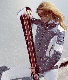 Toni Sailer Women's Phoebe Ski Jacket in Graphite Ski Bunnies, Bunny, Ski Jackets, Graphite, Skiing, Colorado, Vogue, Places, Sports