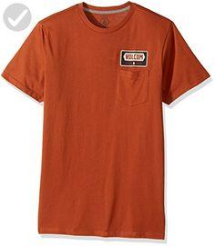 Volcom Men's Shop Short Sleeve Pocket Tee, Cop, M - Mens world (*Amazon Partner-Link)