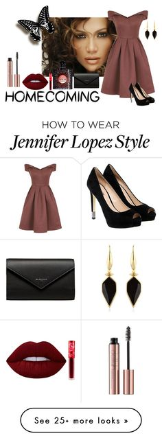 """""""Homecoming... woo"""" by icy12 on Polyvore featuring Jennifer Lopez, Chi Chi, GUESS, Isabel Marant, Balenciaga, Yves Saint Laurent and Lime Crime"""