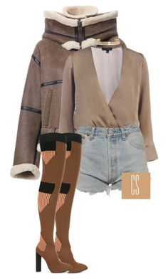 """""""Untitled #1123"""" by vladacatalleyag on Polyvore featuring G.V.G.V., Levi's, adidas Originals and Boohoo"""