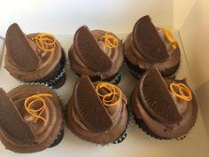 Choc Orange Cupcakes
