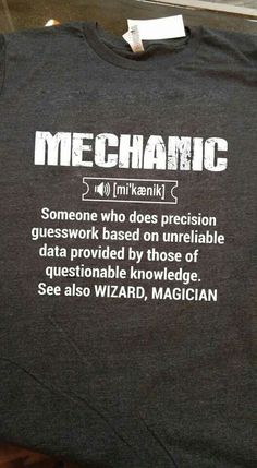 6997f0b3 284 Best Mechanic Humor images | Hilarious, Funny images, Funny memes