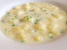 Citromos-snidlinges burgonyafőzelék recept lépés 5 foto Eat Pray Love, Cheeseburger Chowder, Soup, Soups
