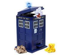 Doctor Who Tardis Wastebin