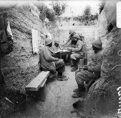Etats des lieux en Champagne et en Argonne, août-septembre 1916. – ECPAD