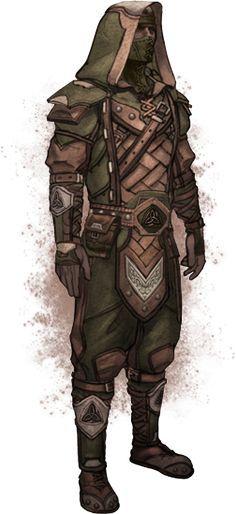 Breton Light Armor Concept Art