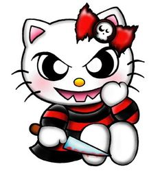 107 Best Hello Kitty Zombie Images Drawings Hello Kitty Art