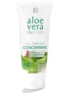 Aloe Vera Konzentrat. Hochkonzentrierte Feuchtigkeitspflege mit 90% Aloe Vera für frische, glatte Haut. Aloe Vera Gel aus dem Blattgel in seiner annähernd ursprünglichen Form und Konsistenz. Maximale Feuchtigkeit und hohe Aloe Vera Konzentration.