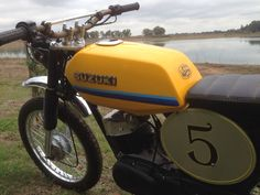 Suzuki ax 100 scrambler # west cafe