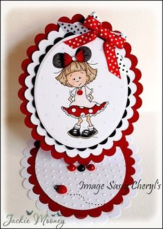 it's Sassy Cheryl's challenge day! Disney Scrapbook Pages, Scrapbook Cards, Disney Cards, Step Cards, Paper Smooches, Fancy Fold Cards, Candy Cards, Easel Cards, Digi Stamps